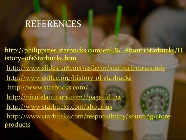 Case study of starbucks philippines