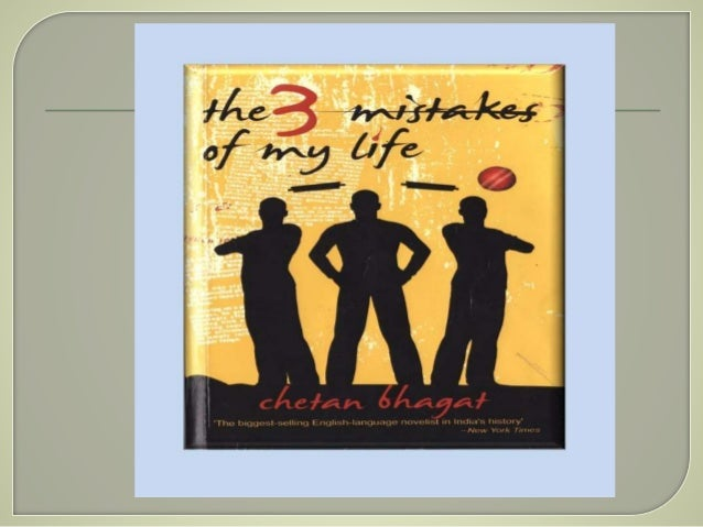 Three Mistakes Of My Life Chetan Bhagat Books Pdf