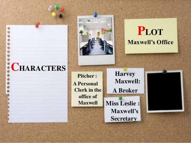 the romance of a busy broker mr maxwell analysis 2018-8-22  the truth behind the universal, but flawed, catchphrase for creativity.
