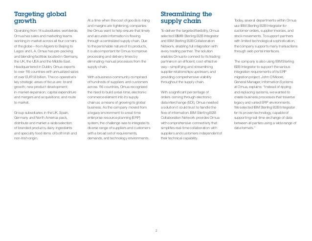 Ornua: IBM Sterling B2B Integrator Case Study
