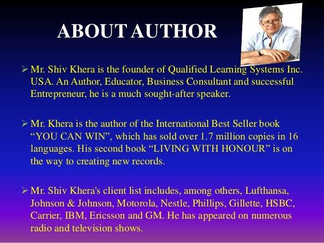 Shiv Khera Books Pdf You Can Win