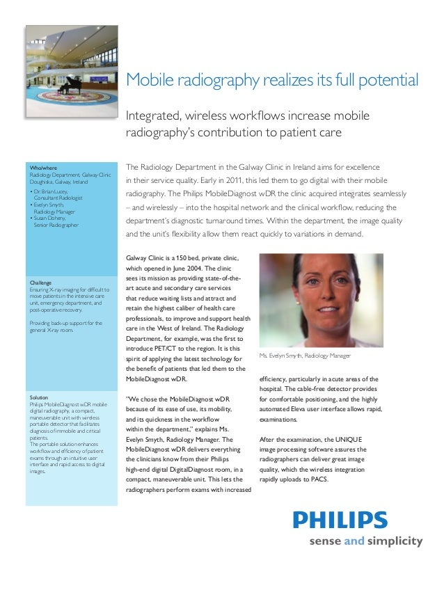 Mobile radiography realizes its full potential                                          Integrated, wireless workflows inc...