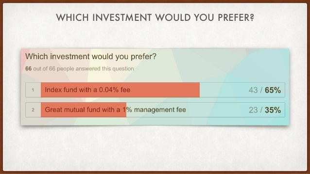 WHICH INVESTMENT WOULD YOU PREFER?