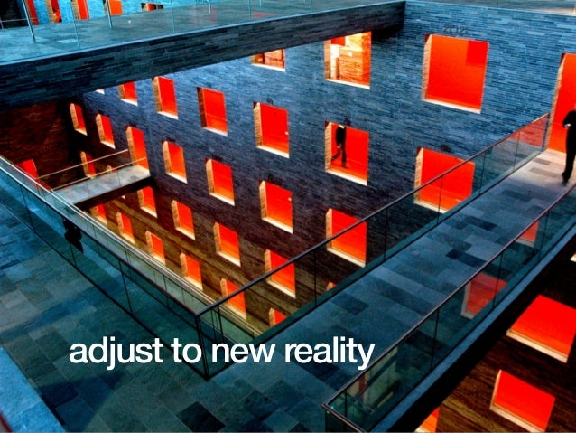 The four major changes: block & tackle brand the company manage the downturn adjust to new realityadjust to new reality