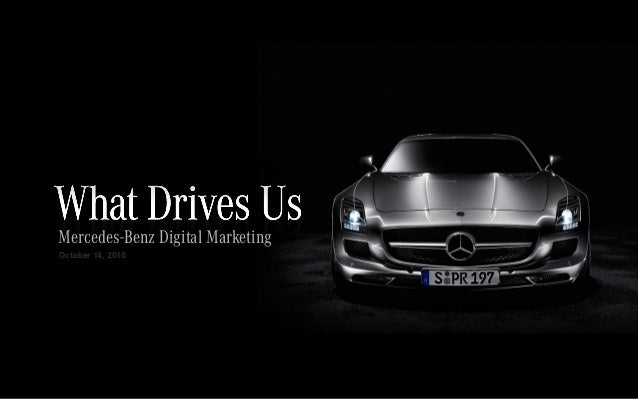 Mercedes-Benz Digital Marketing October 14, 2010