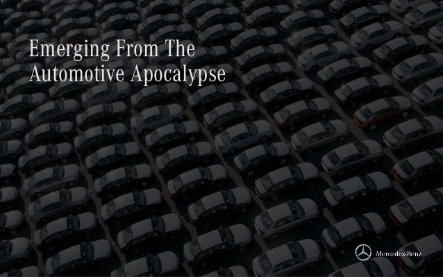 Emerging From The Automotive Apocalypse