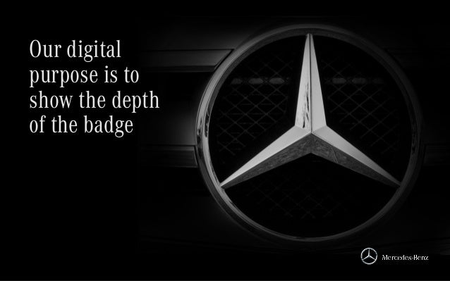 Our digital purpose is to show the depth of the badge