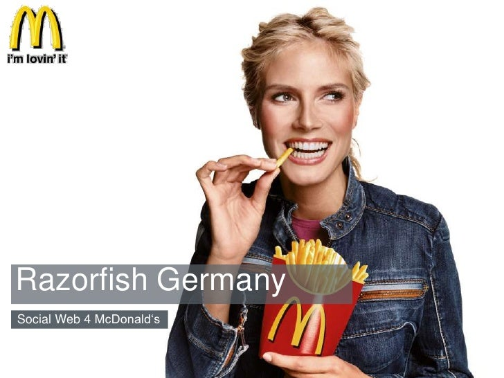 Razorfish Germany<br />Social Web 4 McDonald's<br />McDonald's<br />1<br />10/20/10<br />