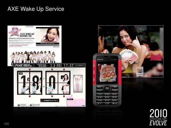 AXE Wake Up Service <br />AXE<br />