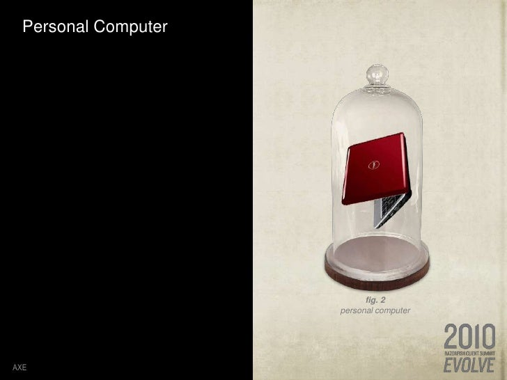 Personal Computer  <br />AXE<br />fig. 2<br />personal computer<br />