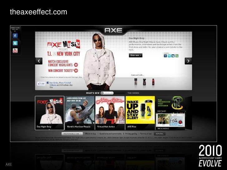 theaxeeffect.com<br />AXE<br />