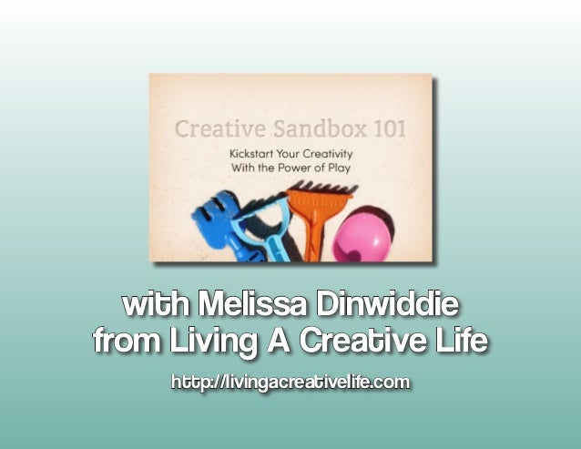 with Melissa Dinwiddiefrom Living A Creative Life     http://livingacreativelife.com