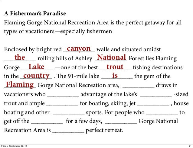 A Fisherman's Paradise Flaming Gorge National Recreation Area is the perfect getaway for all types of vacationers—especial...