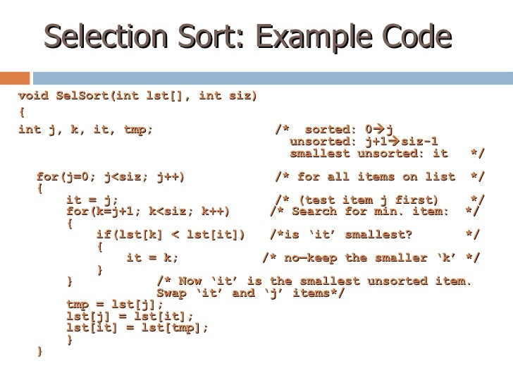 how to writing a selection sorting for python