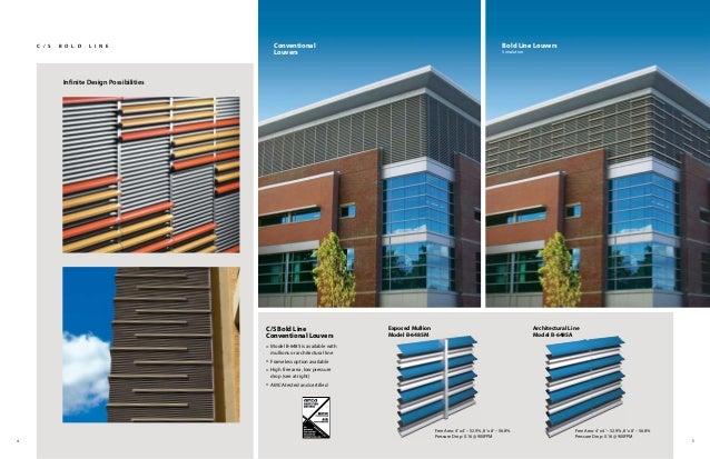 CS 2013 Architectural Louver Catalog