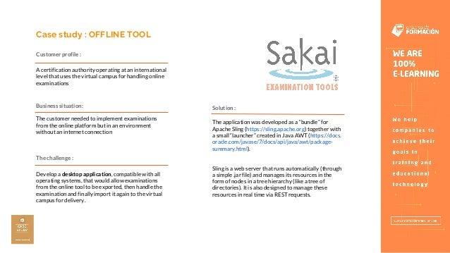 Sakai Offline Tool - Entornos de Formación Slide 2