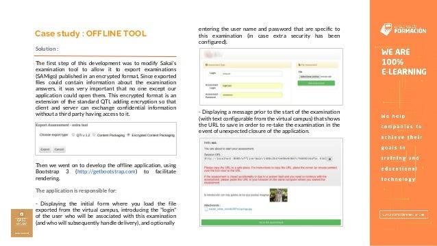 Sakai Offline Tool - Entornos de Formación Slide 3