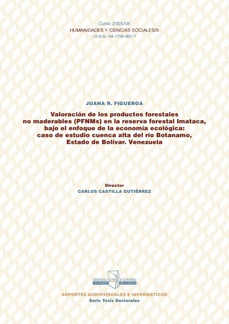 Curso 2005/06             HUMANIDADES Y CIENCIAS SOCIALES/8                     I.S.B.N.: 84-7756-691-7                   ...