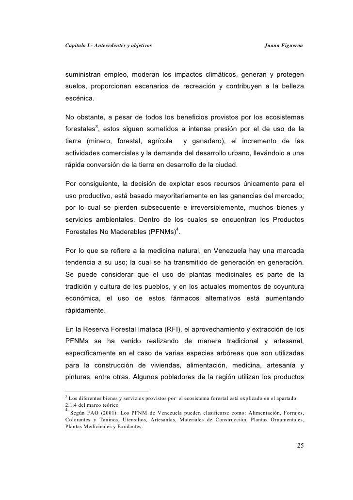 Capitulo I.- Antecedentes y objetivos                                                Juana Figueroasuministran empleo, mod...