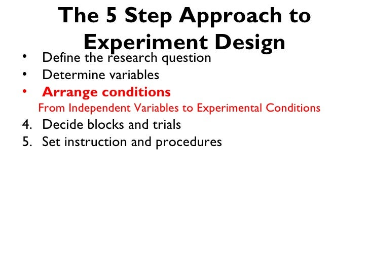 The 5-step Approach to Controlled Experiment Design for Human Compute…