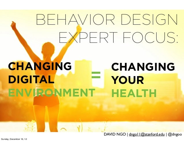 health behavior change Considerable research has sought to identify factors that contribute to successful behavior change and to develop more effective tools for clinicians to encourage their patients to adopt healthier habits, especially in the context of a brief office visit.