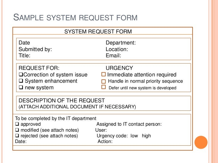 it request template - Roho.4senses.co