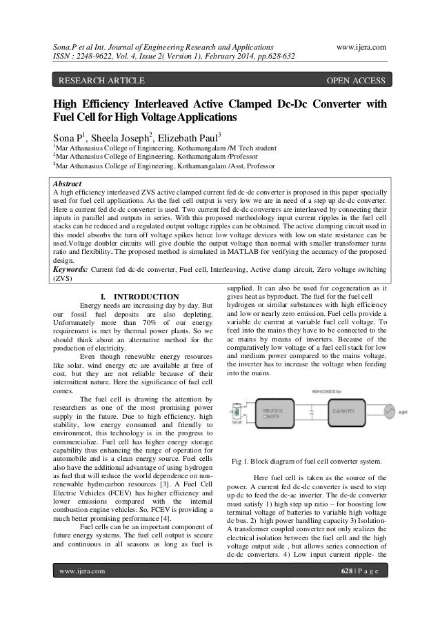Sona.P et al Int. Journal of Engineering Research and Applications ISSN : 2248-9622, Vol. 4, Issue 2( Version 1), February...