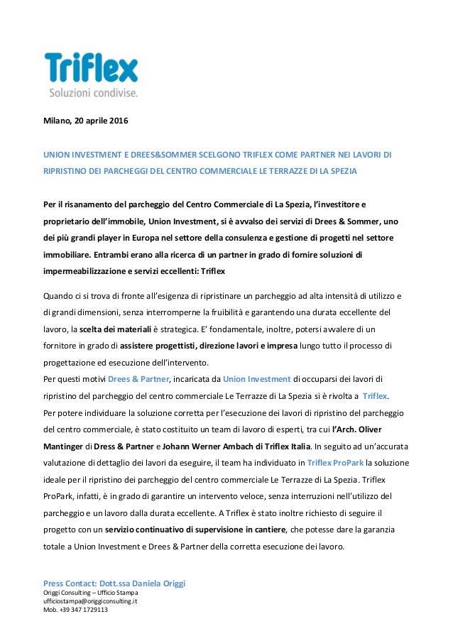 Union Investment e Drees & Partner con Triflex per il ripristino dei …