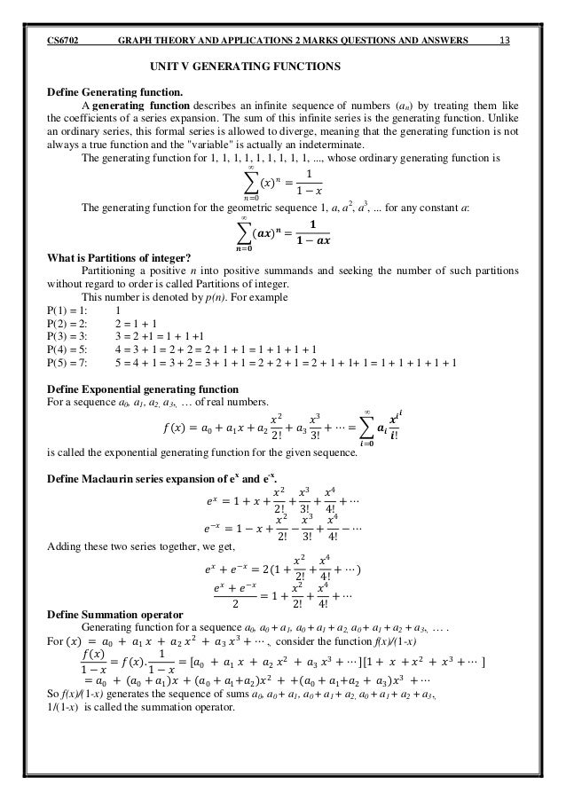 research papers in algebraic graph theory This would make a very nice thesis topic for anyone wishing an introduction to number theory research could include some interesting computer work if desired reference:  the fundamental theorem of algebra  this is a modern topic combining ideas from probability and graph theory.