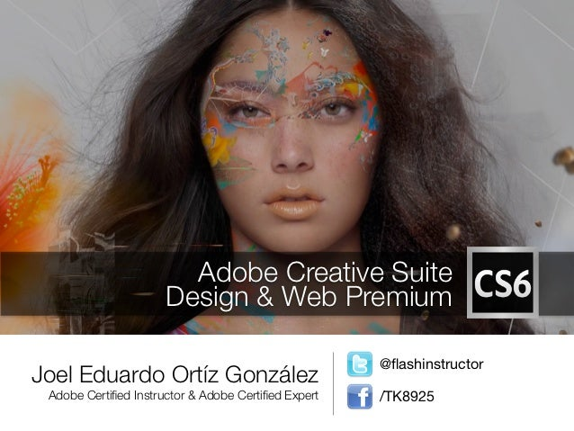 Adobe Creative Suite                      Design & Web Premium                                                     @flashin...