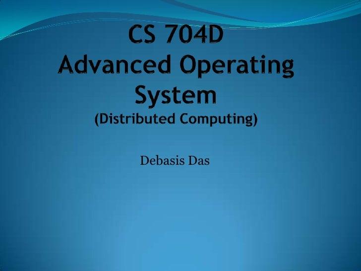Cs 704 d dce ipc-msgpassing