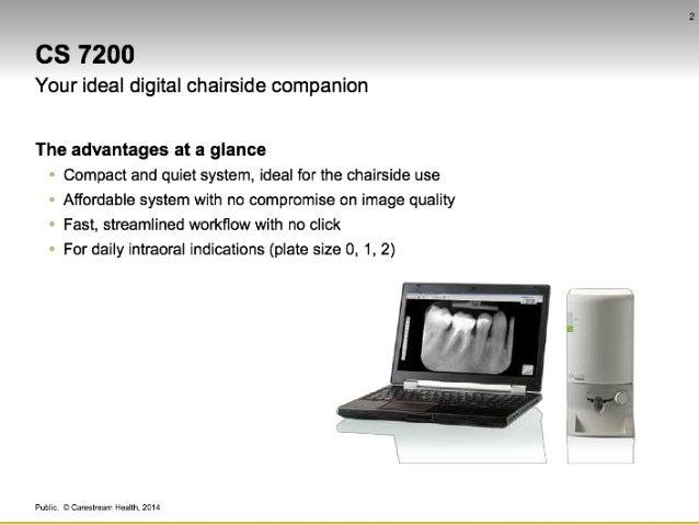new carestream cs7200 chairside intra oral x ray from 360 visualise rh slideshare net Carestream 3D Imaging CS-9000 3D
