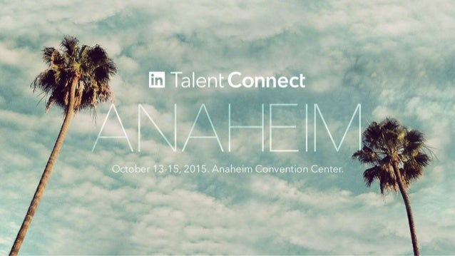 Managing Change: From Pain to Gain Talent Connect 2015