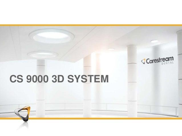 cs 9000 3d presentation rh slideshare net Kodak Cone Beam 3D Carestream 9000 3D