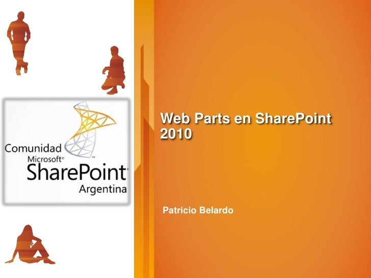 Web Parts en SharePoint 2010     Patricio Belardo