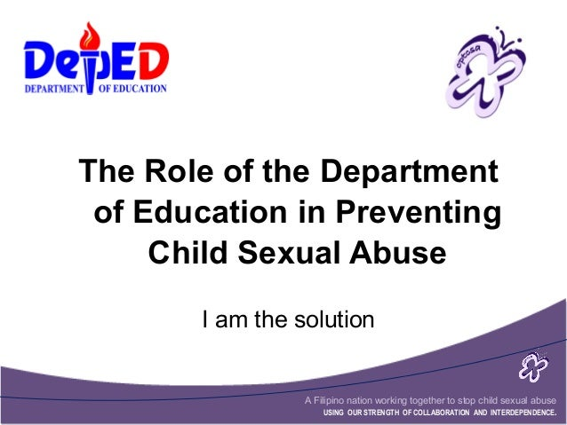 Postponing sexual involvement department of education