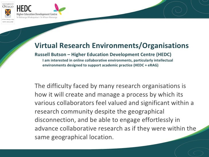 <ul><li>The difficulty faced by many research organisations is how it will create and manage a process by which its variou...