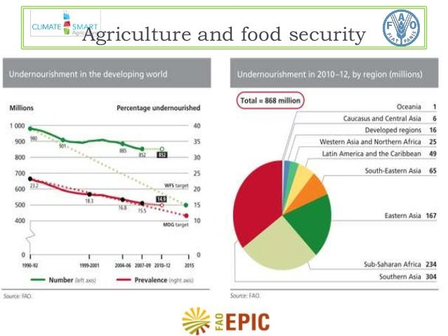 Agriculture and food security