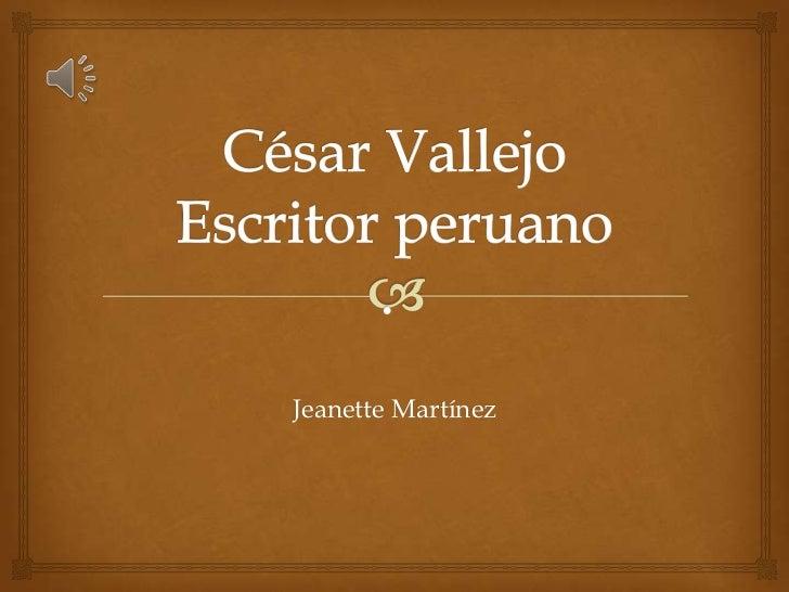 Jeanette Martínez