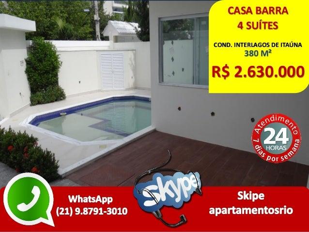 CASA BARRA 4 SUÍTES COND. INTERLAGOS DE ITAÚNA 380 M² R$ 2.630.000