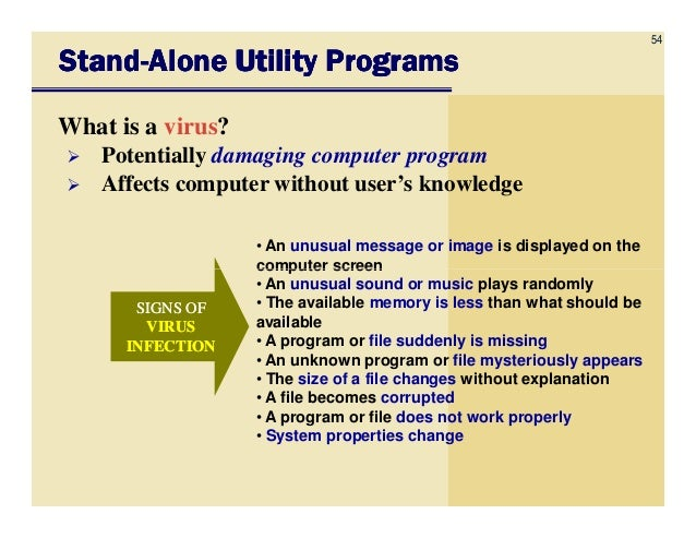a study on a computer virus an illegal and potentially damaging computer program F damaging a computer or information  viruses, and worms  and the senate held hearings on potential computer crime bills, continuing.