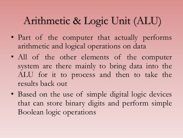 The Logic of Computer Arithmetic
