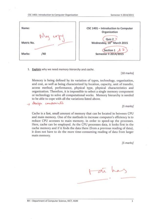 Csc1401   q2 - answers scheme