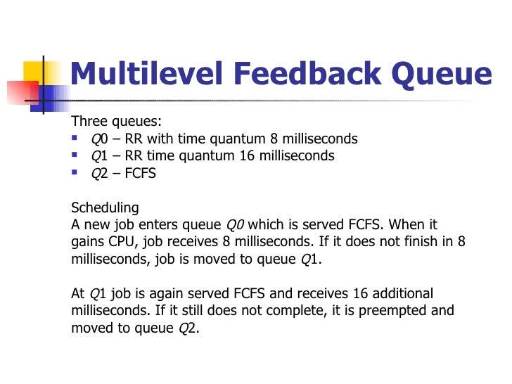 MultiLevel Queue Scheduling Tutorial With Example - Tutorialwing