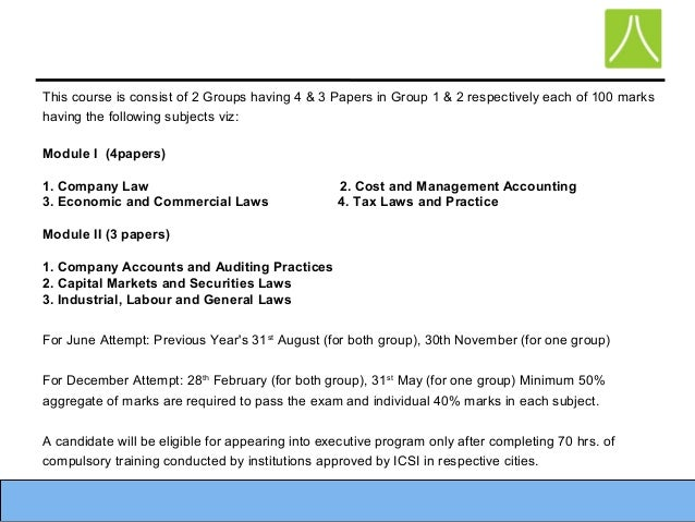 Company secretary cs cs executive program 6 malvernweather