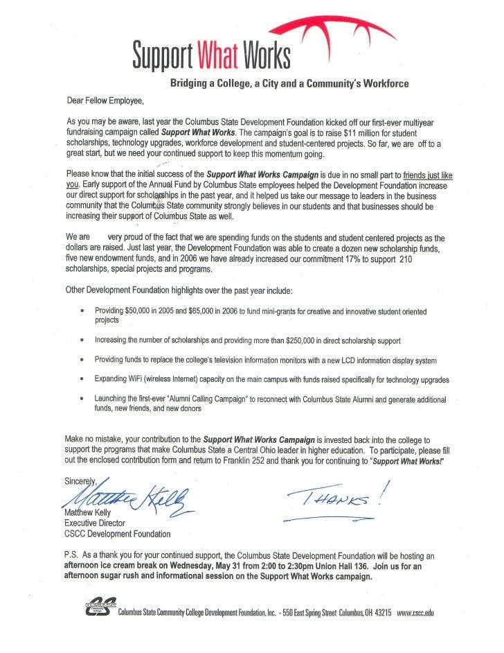 CSCC Appeal Letter