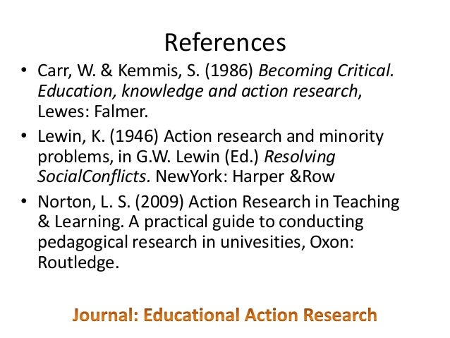 1946 paper action research and minority problems Despite the clouded origins of action research, kurt lewin, in the mid 1940s constructed a theory of action research, which described action research as proceeding in a spiral of steps, each of which is composed of planning, action and the evaluation of the result of action (kemmis and mctaggert 1990:8.