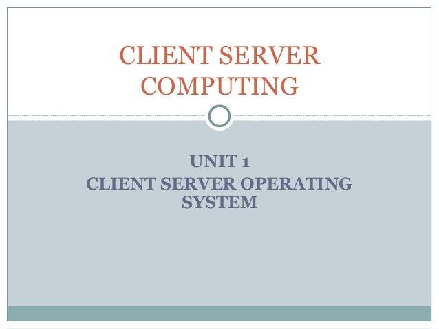 mainframe centric client server computing slideshare
