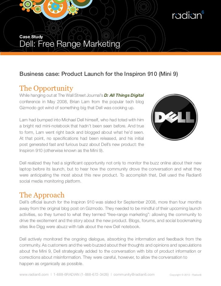 case study on dell See how dell used dynamics ax lean erp to redefine its manufacturing operations this video is a great example of how ax can revolutionize manufacturing.