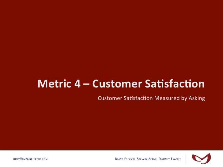 Customer Service & Digital Metrics Slide 2